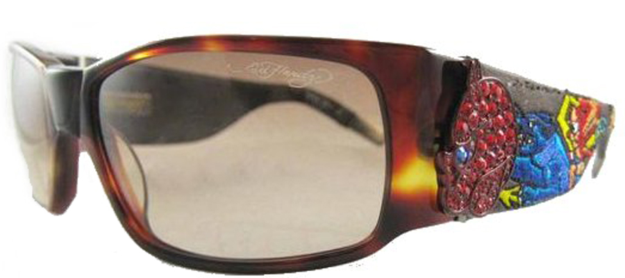Ed Hardy EHS-036 Devil on Panther Flat Sunglasses