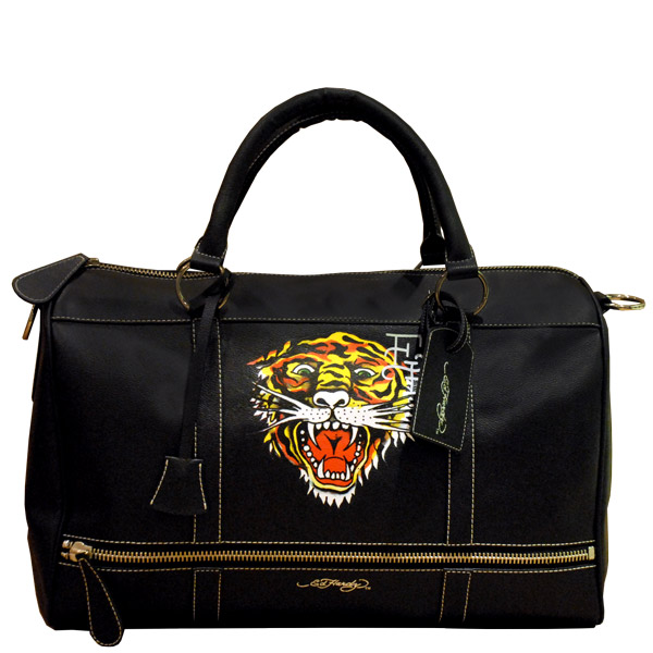 duffle bags for men. Ed Hardy Duffel Bag with Zip -
