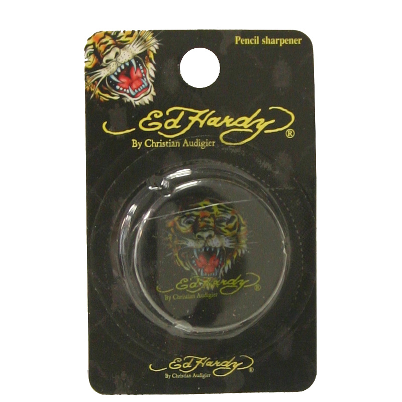 Ed Hardy Sookie Tiger Sharpener - Black