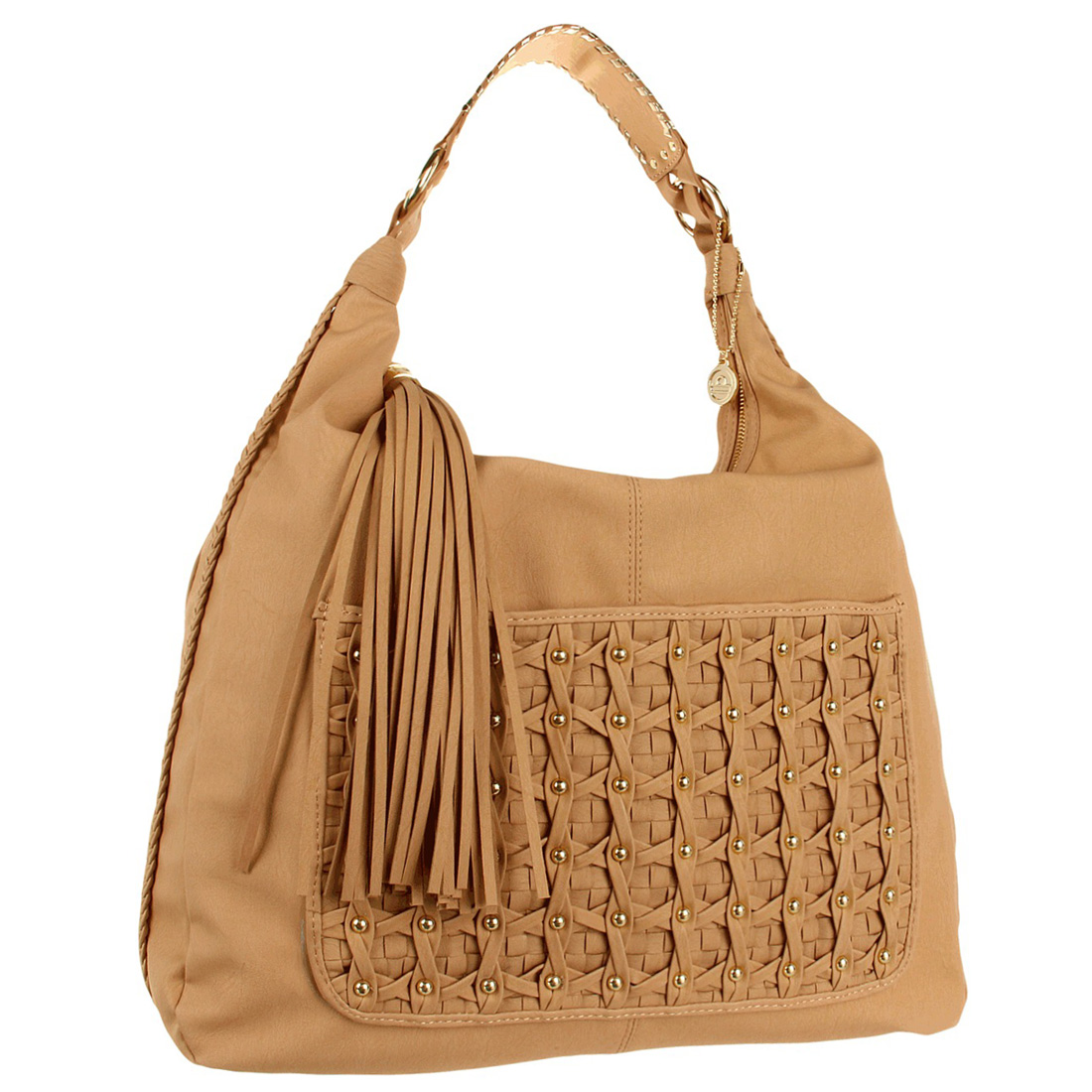 Big Buddha Finley Hobo Bag- Tan