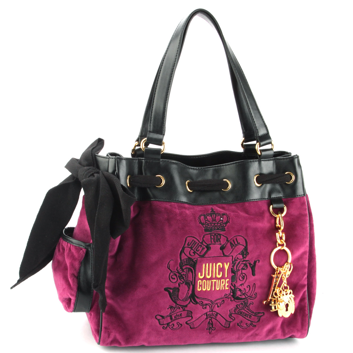 Juicy Couture Forever Crest Daydreamer Handbag- Plum