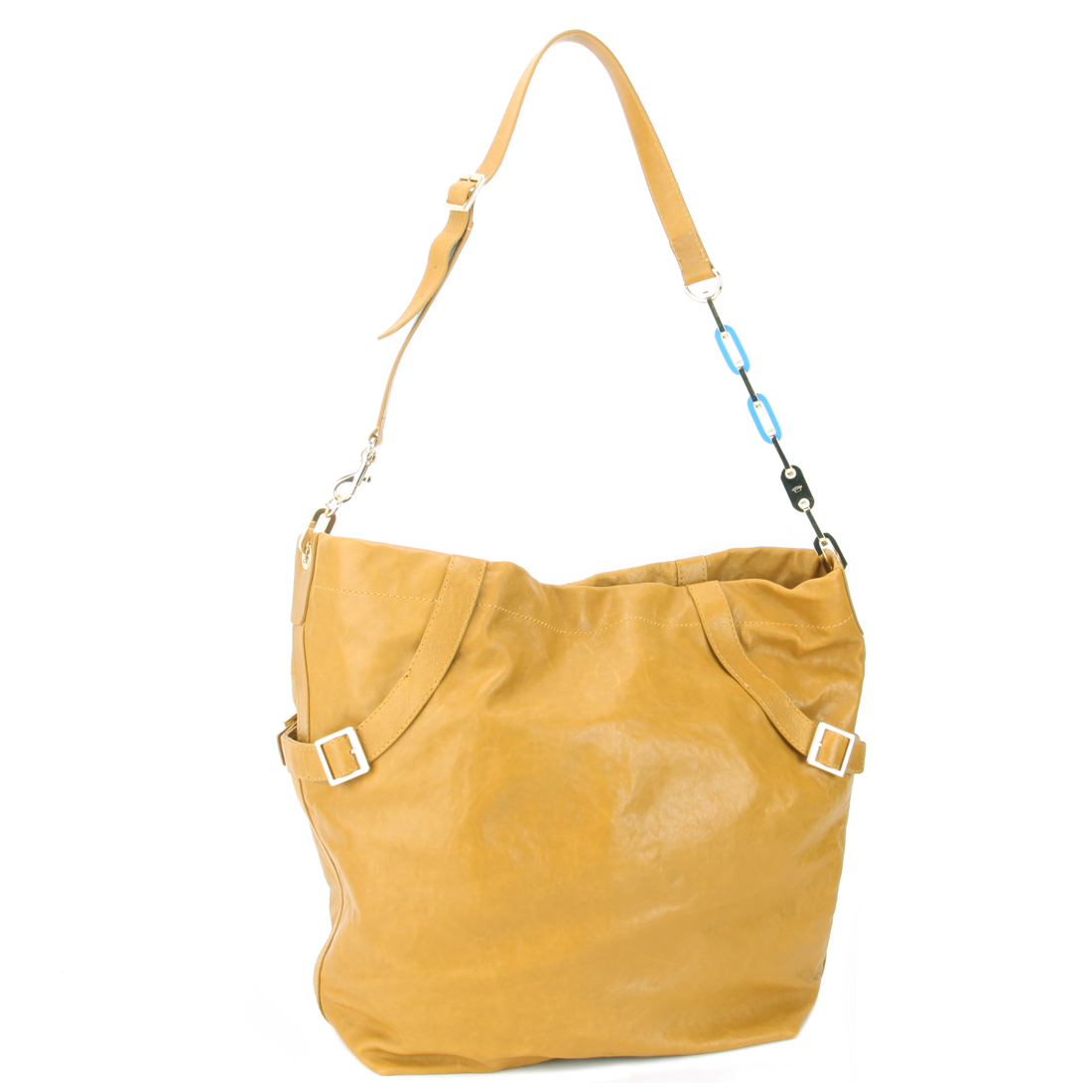 Juicy Couture Large Hobo Handbag-Pineapple