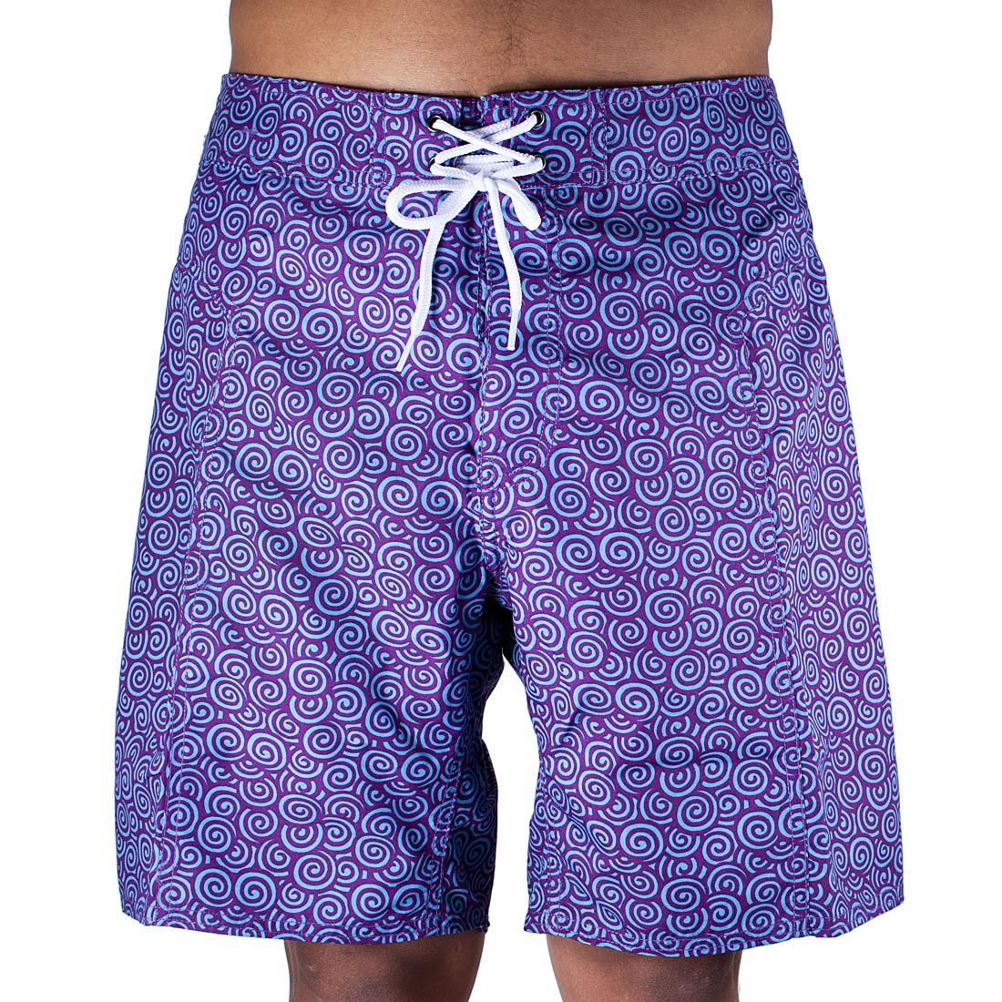 Trunks Men's Salty Board Shorts – Lotus Swirls