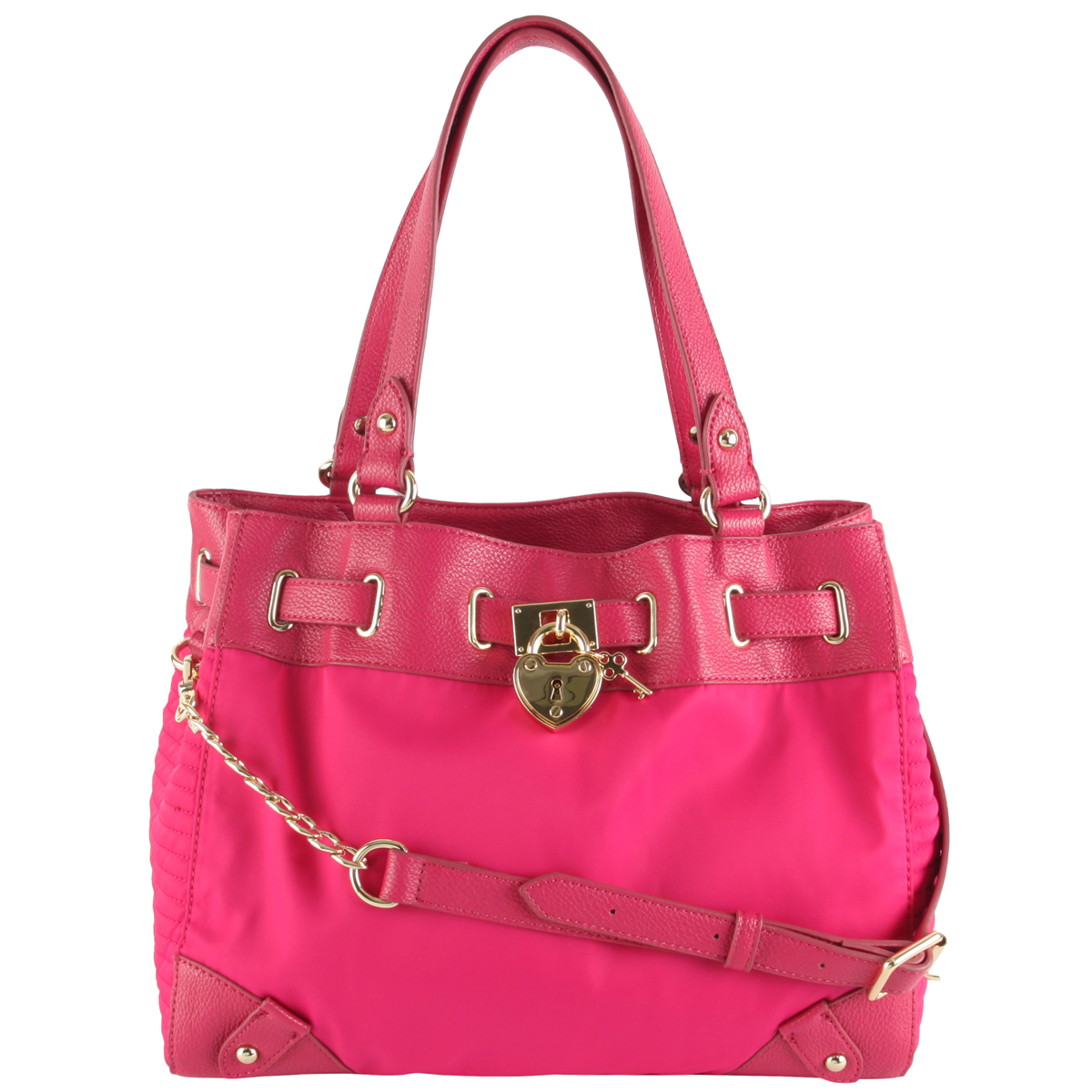 Juicy Couture Nylon Daydreamer Bag-Pink