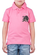 Ed Hardy Toddlers Panther Polo - Pink