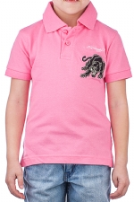 Ed Hardy Kids Girls Panther Polo - Pink