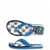 Ed Hardy Flip Flop Okinawa Sandal for Womens - Light Blue