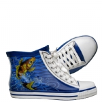 Ed Hardy Harrison Rain Shoe For Women- Blue