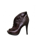 Ed Hardy Mumbai Heel Shoe for Women - Brown