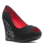 Ed Hardy Camden Wedge Shoe - Black