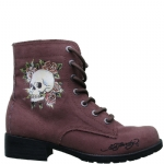 Ed Hardy Raveen Womens Boots - Brown