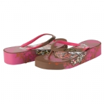 Ed Hardy Kim Flip Flop Sandal  for Women - Brown
