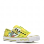 Ed Hardy Lowrise Stone Sneaker for Women - Yellow