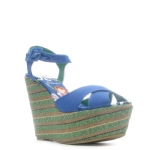 Ed Hardy Cristy Womens Heel Shoe - Blue