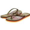 Ed Hardy Jungle  Flip Flop for Women -Military
