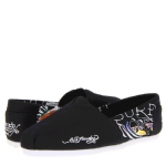 Ed Hardy Bahamas Slip-On Flat for Women - Black