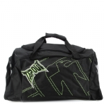 Tapout Stitch Duffle Bag-Black/Green