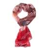 Ed Hardy 80x40 Beautiful Ghost Scarf - Red