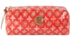 Tory Burch East West Cosmetic Case-Poppy Red