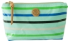 Tory Burch Small Slouchy Cosmetic Case-Mint Multi