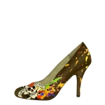 Ed Hardy Rock Away Heels Shoe - Dark Brown