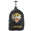 Ed Hardy Brad Tiger Trolley Backpack- Black