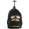 Ed Hardy Brad American Eagle Trolley Backpack- Black