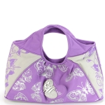 Ed Hardy Helen Shoulder Bag- Purple