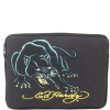 Ed Hardy Panther  Bill Computer Laptop Sleeve  - Black