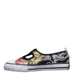 Ed Hardy Candyland Shoe for Kids - Black