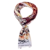 Ed Hardy 18x75 Jersey with Nail Heads Tiger Scarf - Orange