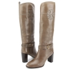 Tory Burch Blaire Leather Boots - Musk