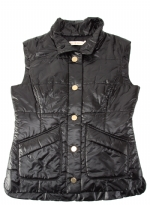 Tory Burch Channing Puffer Vest - Black