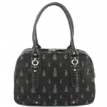 Christian Audigier Janella Shoulder Bag- Black