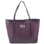 Christian Audigier Silvana Tote - Purple