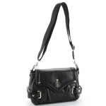 Christian Audigier Celia Shoulder Bag - Black