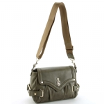 Christian Audigier Celia Shoulder Bag - Khaki