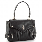 Christian Audigier Jean Top Handle Bag - Black