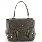 Christian Audigier Jean Top Handle Bag - Khaki