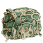 Christian Audigier Alyssa Crossbody Bag -Green