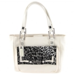 Christian Audigier Magda Tote- White