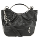 Christian Audigier Peggy Crossbody Bag- Black