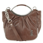 Christian Audigier Peggy Crossbody Bag- Brown