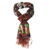 Ed Hardy 80x40 Love Kills Scarf - Brown