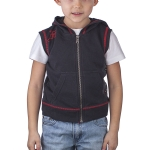 Ed Hardy Toddler Eagle Sleeveless Hoodie - Black