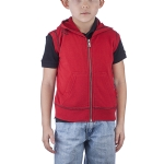 Ed Hardy Toddler Dragon Sleeveless Hoodie - Red
