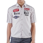 Ed Hardy Toddler Boys Buttoned Shirt - Grey