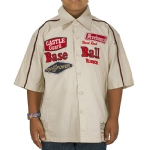 Ed Hardy Toddler Boys Buttoned Shirt - Beige