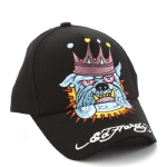 Ed Hardy Boys Bulldog Cap - Black