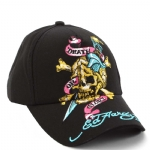 Ed Hardy Boys Death Or Glory Cap-Black